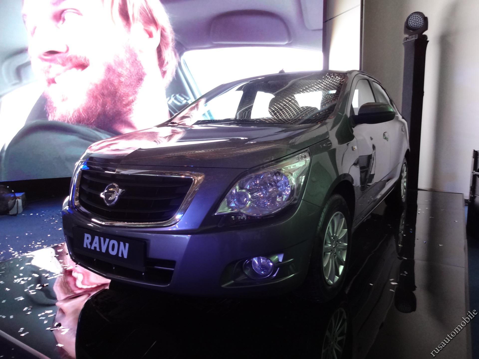 Новая модель Ravon R4