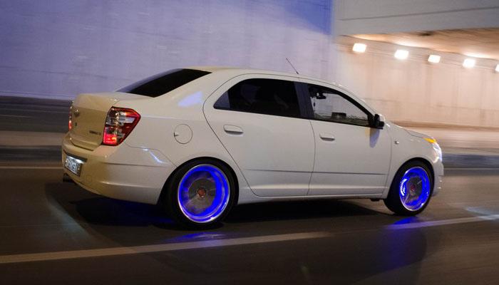 Колесные диски с подсветкой
